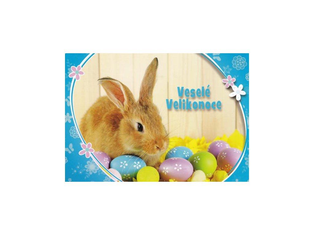 Pohlednice Velikonoční králíček 9