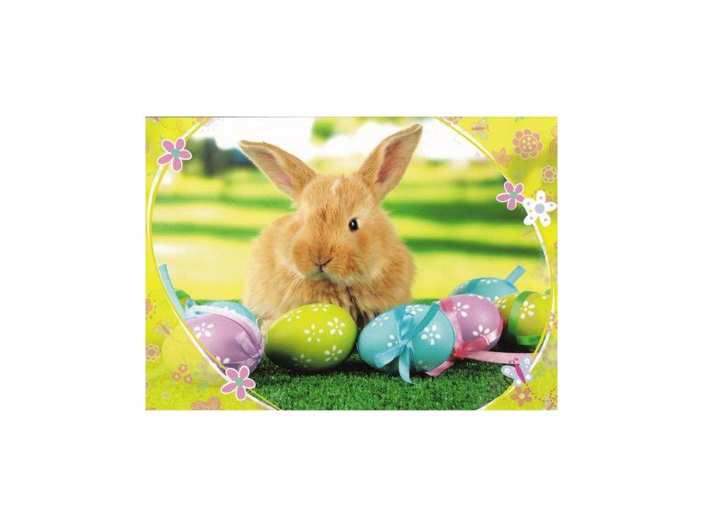 Pohlednice Velikonoční králíček 13