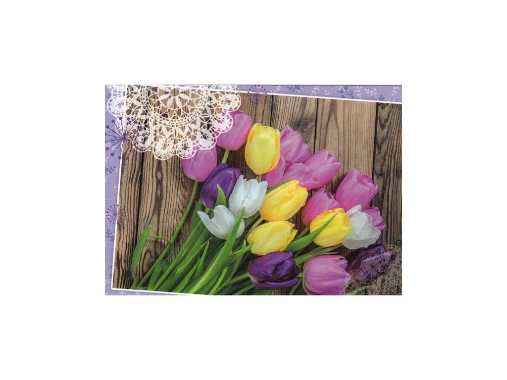 Pohlednice Tulipány 3