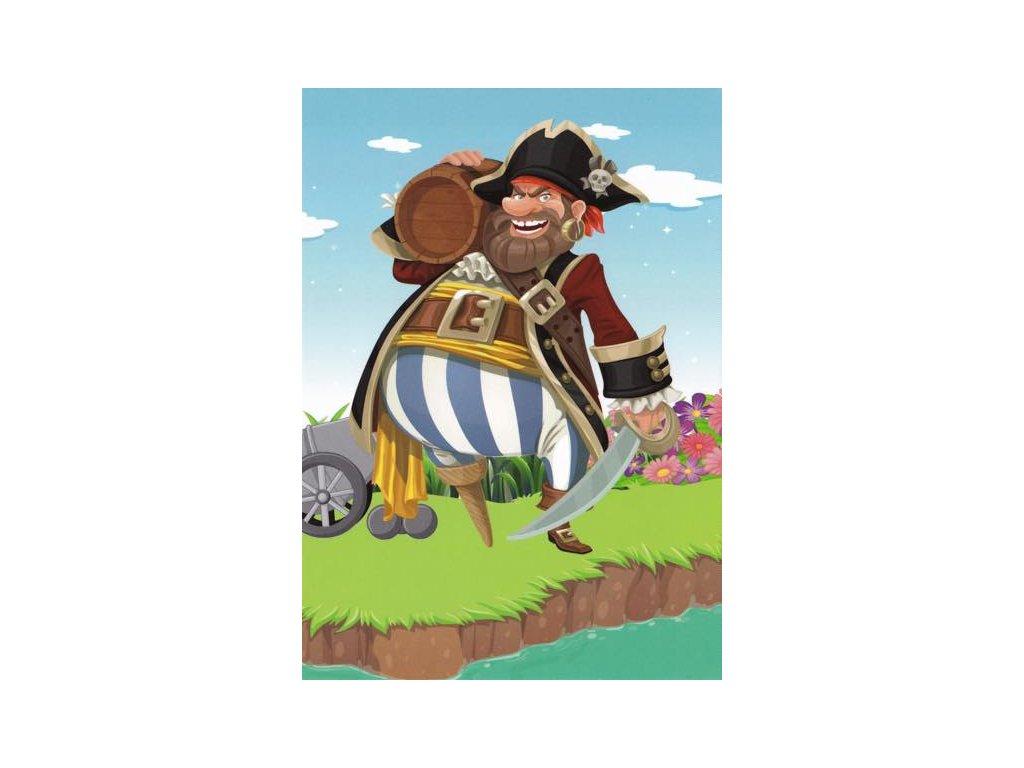 Pohlednice Pirát