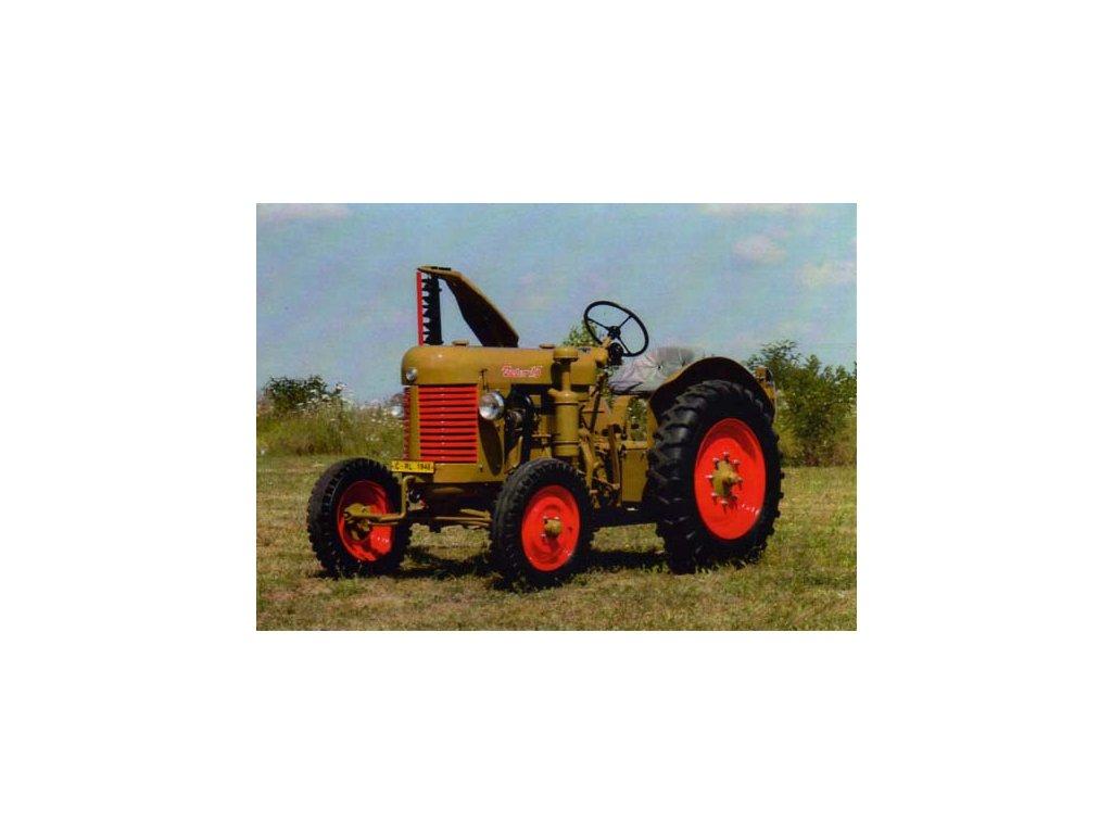 Pohlednice traktor Zetor 15