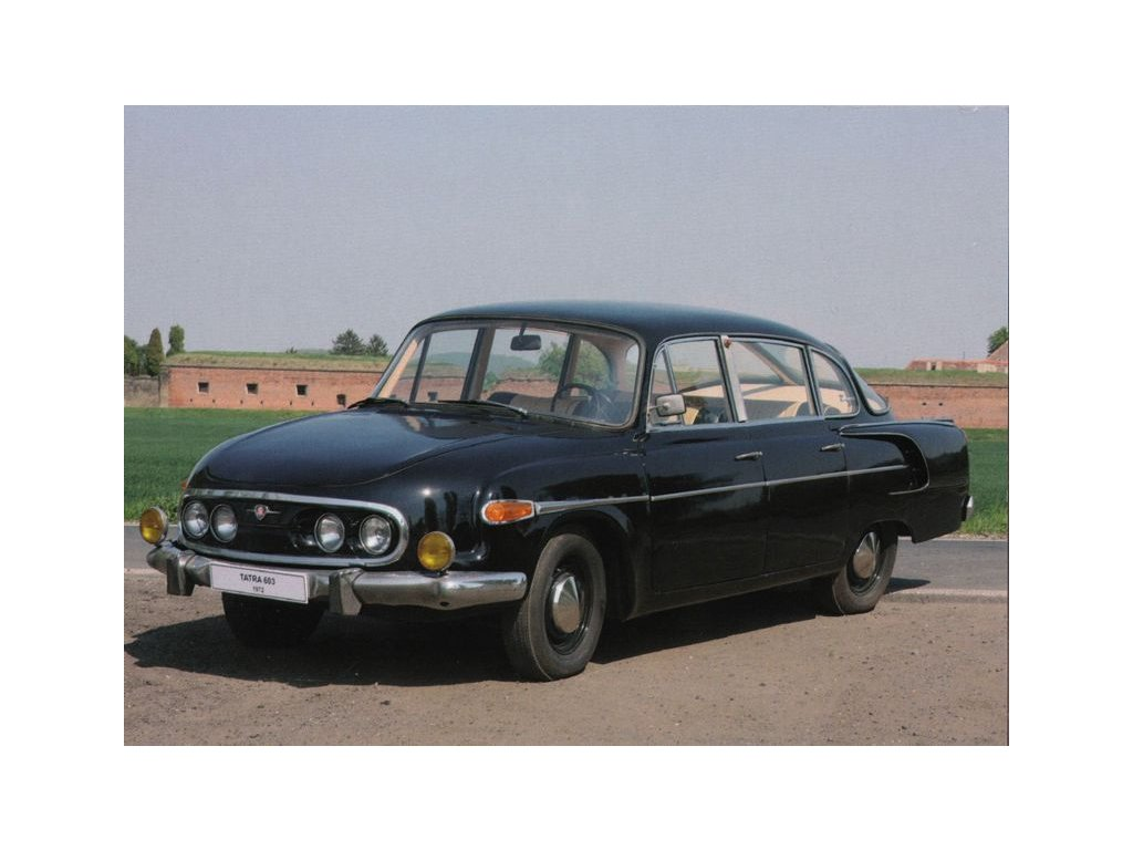 Pohlednice Tatra 2-603