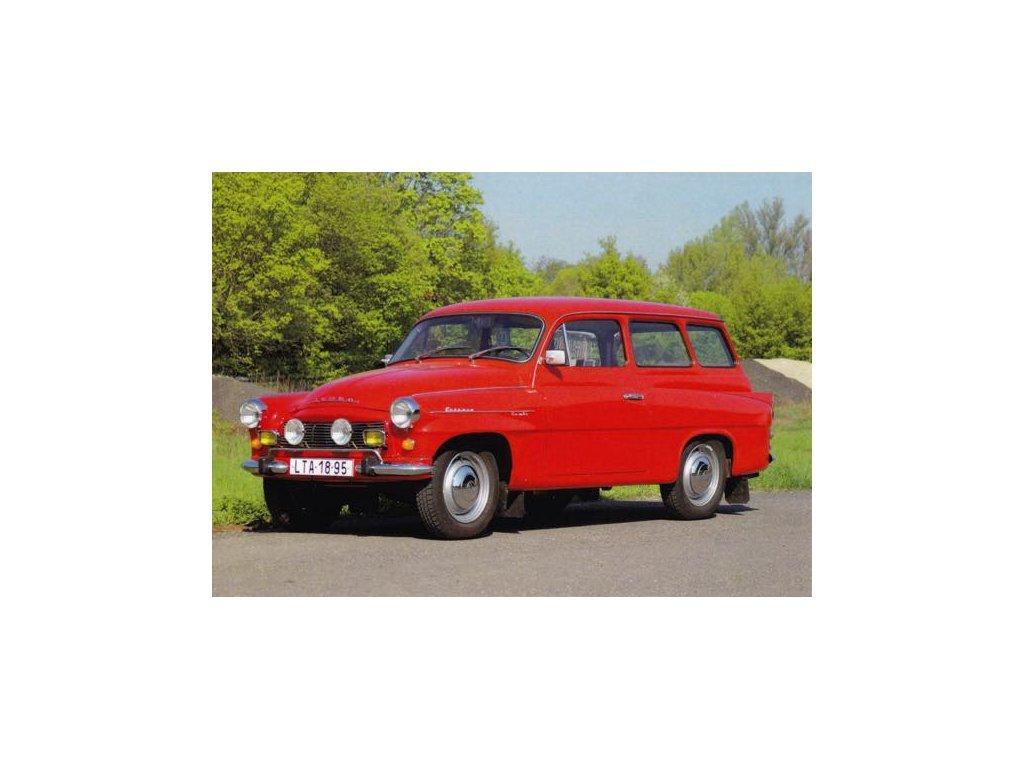 Pohlednice Škoda Octavia