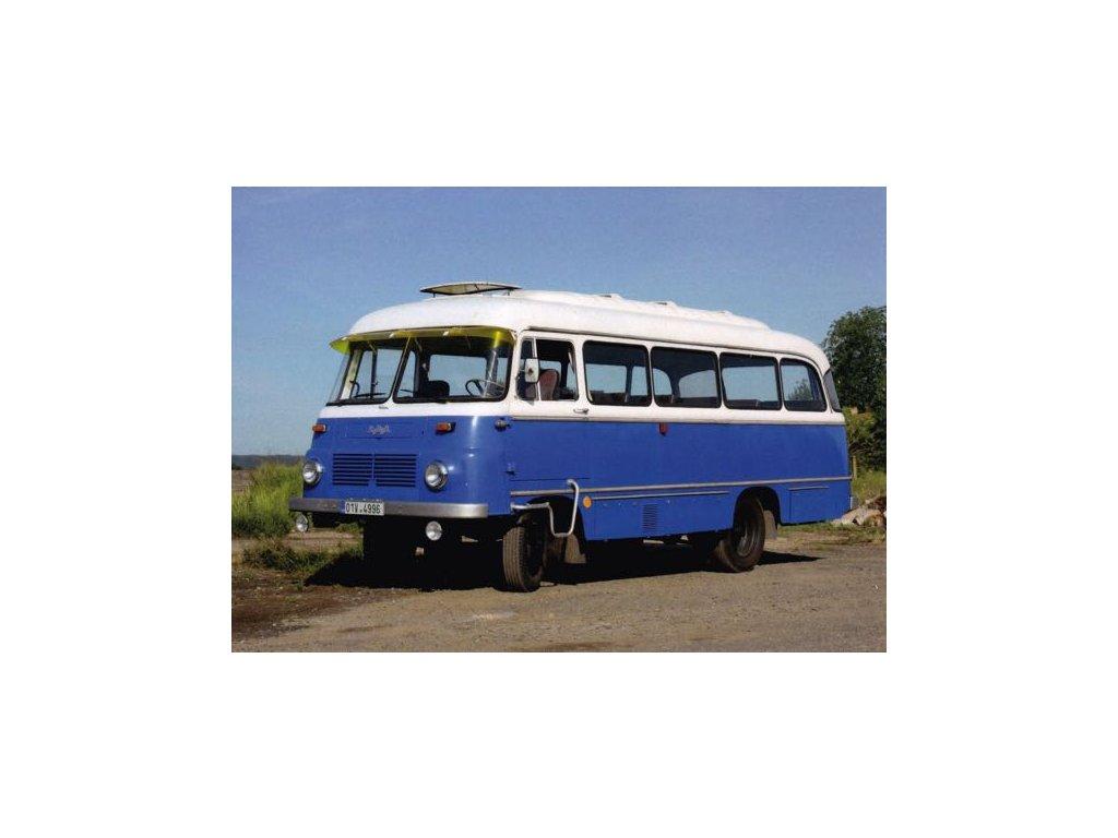 Pohlednice Autobus ROBUR