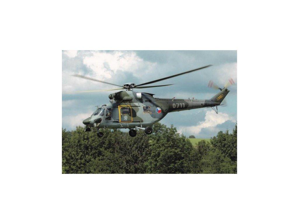 Pohlednice Vrtulník W-3A Sokol