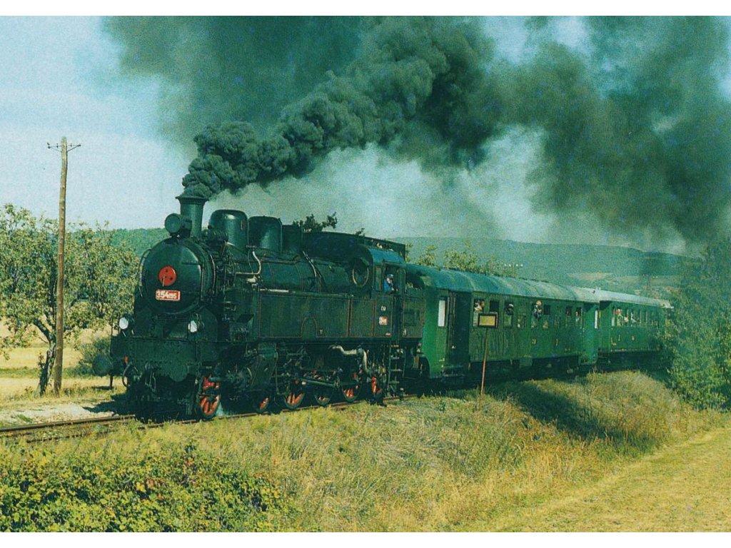 Pohlednice Parní lokomotiva