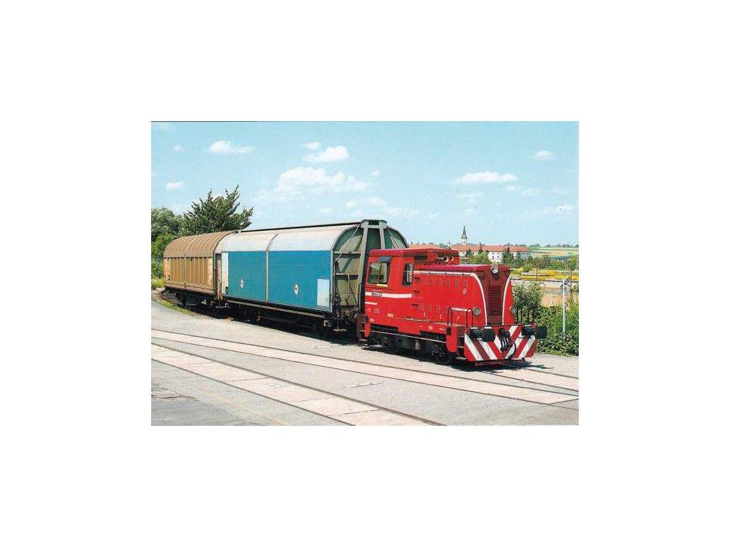 Pohlednice Motorová lokomotiva