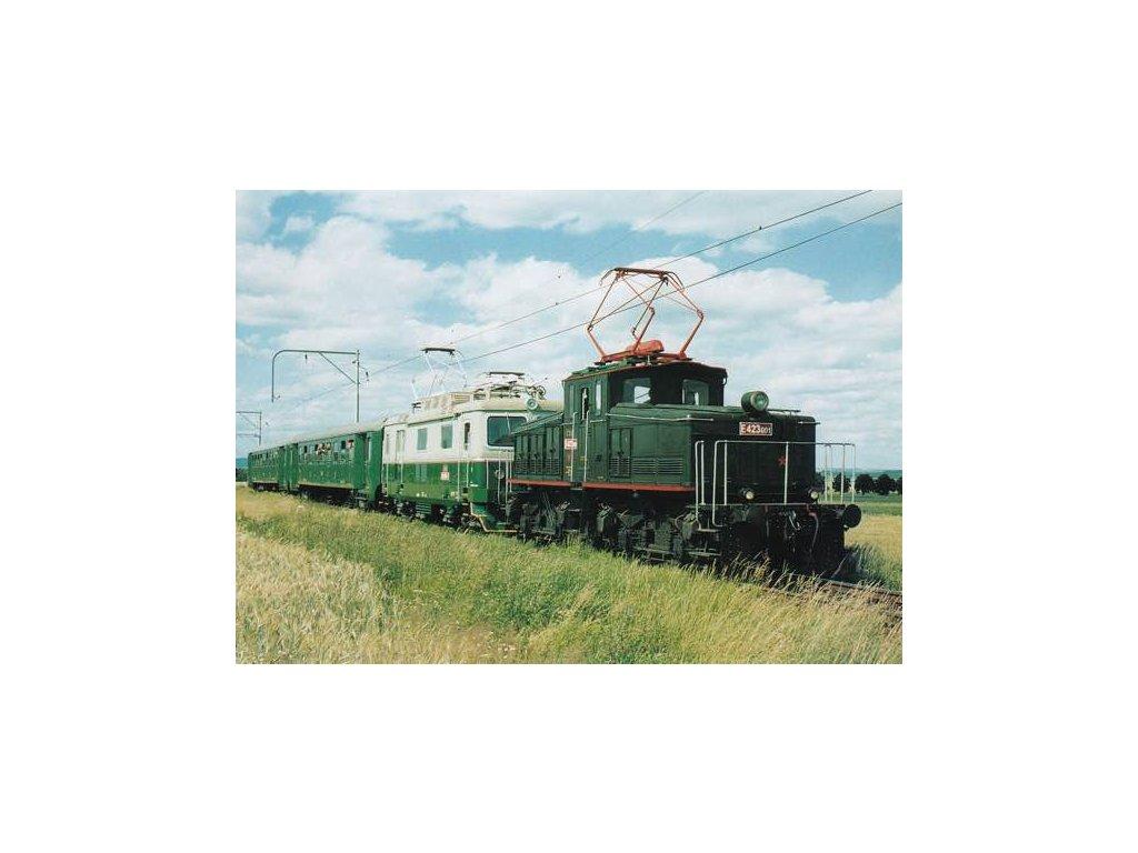 Pohlednice Elektrické lokomotivy