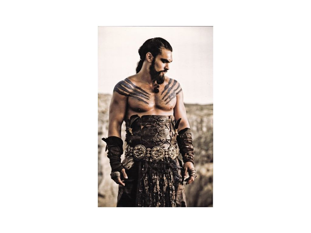 Pohlednice Game of Thrones - Khal