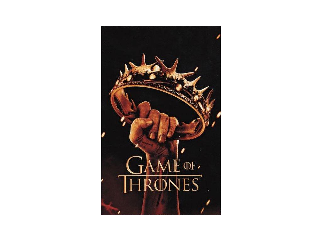 Pohlednice Game of Thrones - koruna