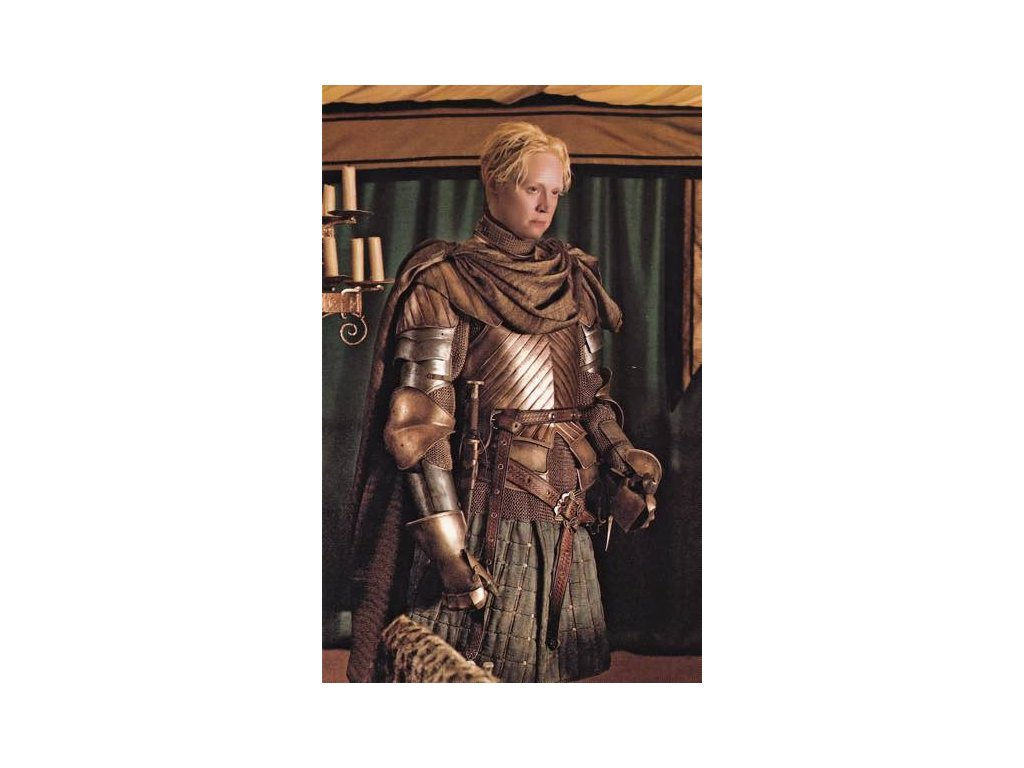 Pohlednice Game of Thrones - Brienne