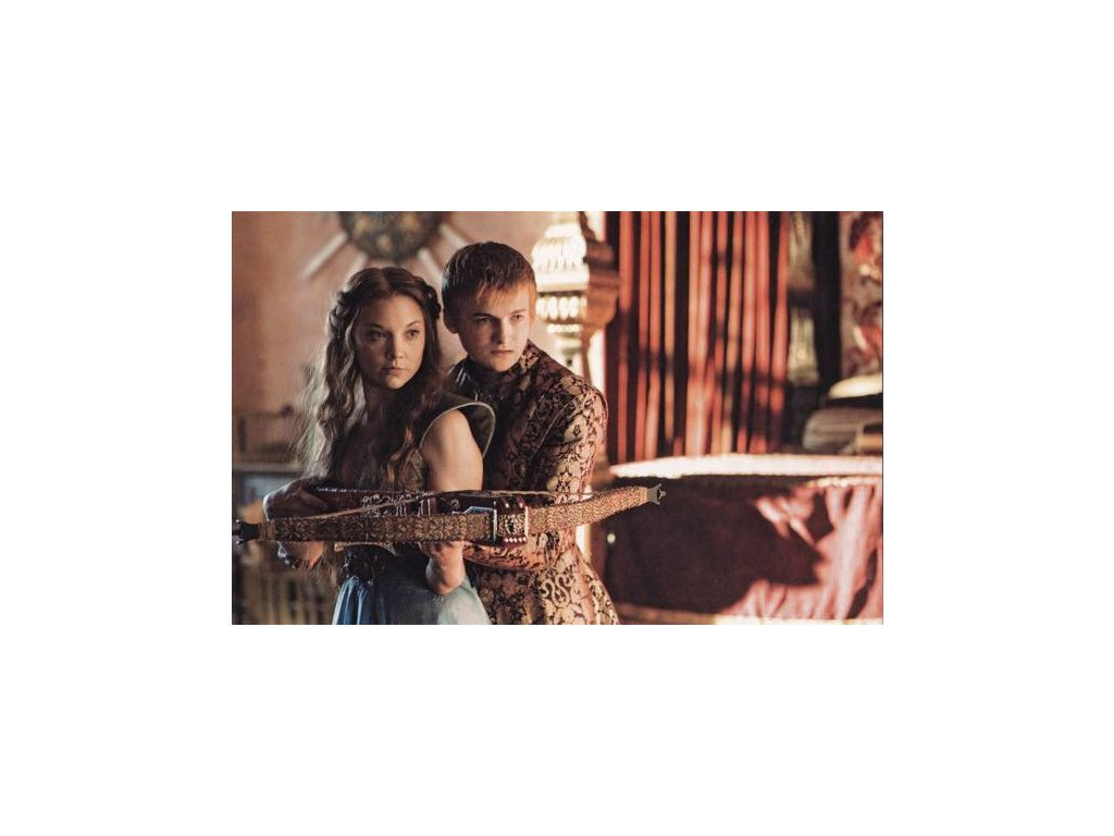 Pohlednice Game of Thrones - Joffrey a Margaery