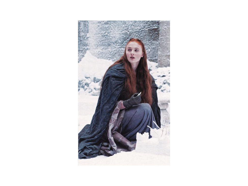 Pohlednice Game of Thrones - Sansa