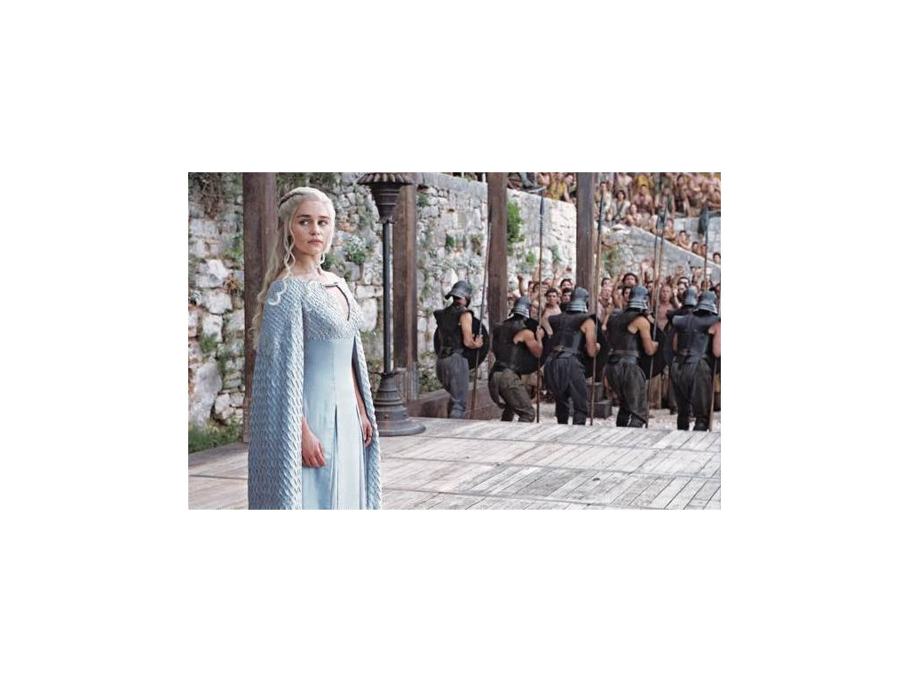 Pohlednice Game of Thrones - Daenerys