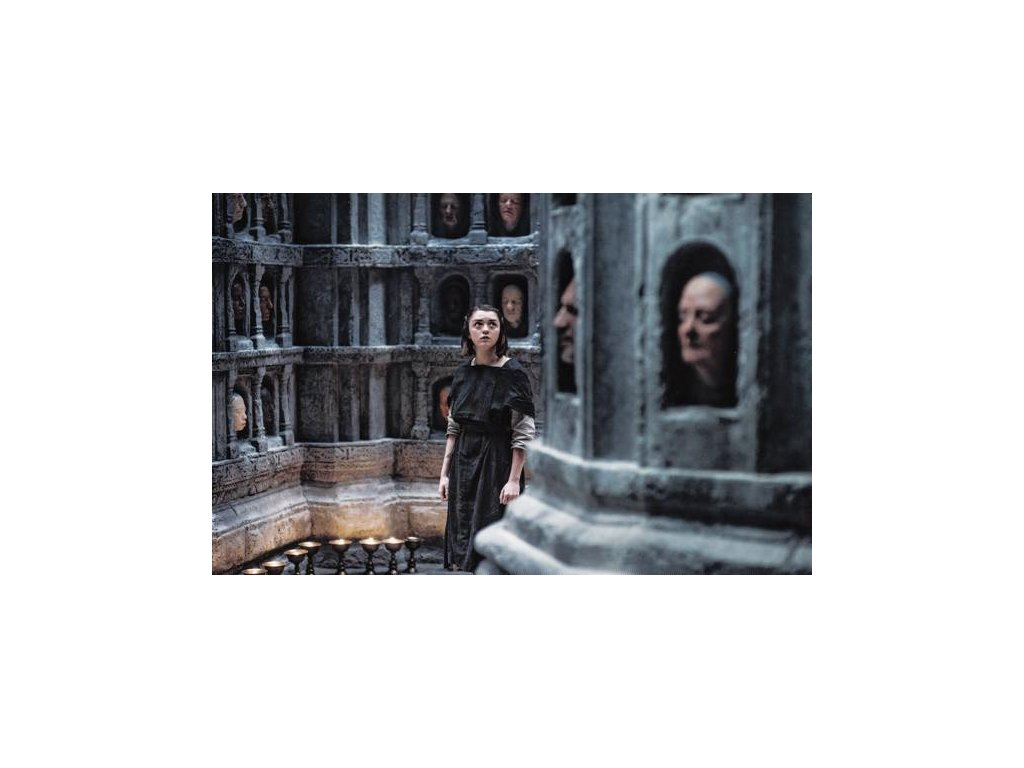 Pohlednice Game of Thrones - Arya
