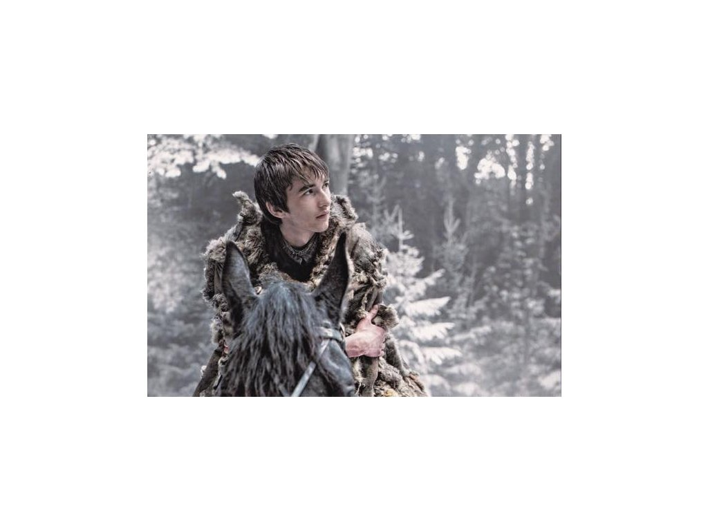 Pohlednice Game of Thrones - Bran