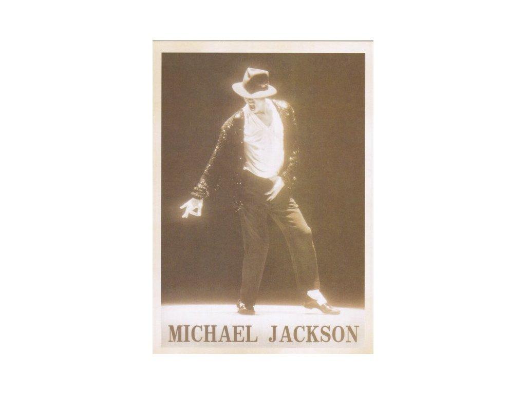 Pohlednice Michael Jackson