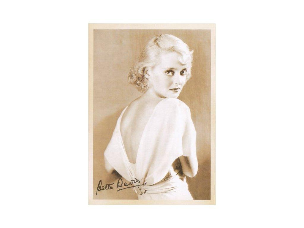 Pohlednice Bette Davis