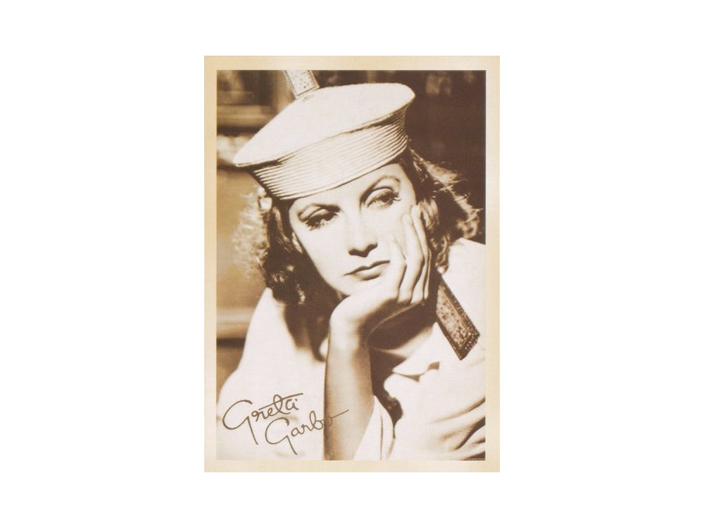 Pohlednice Greta Garbo