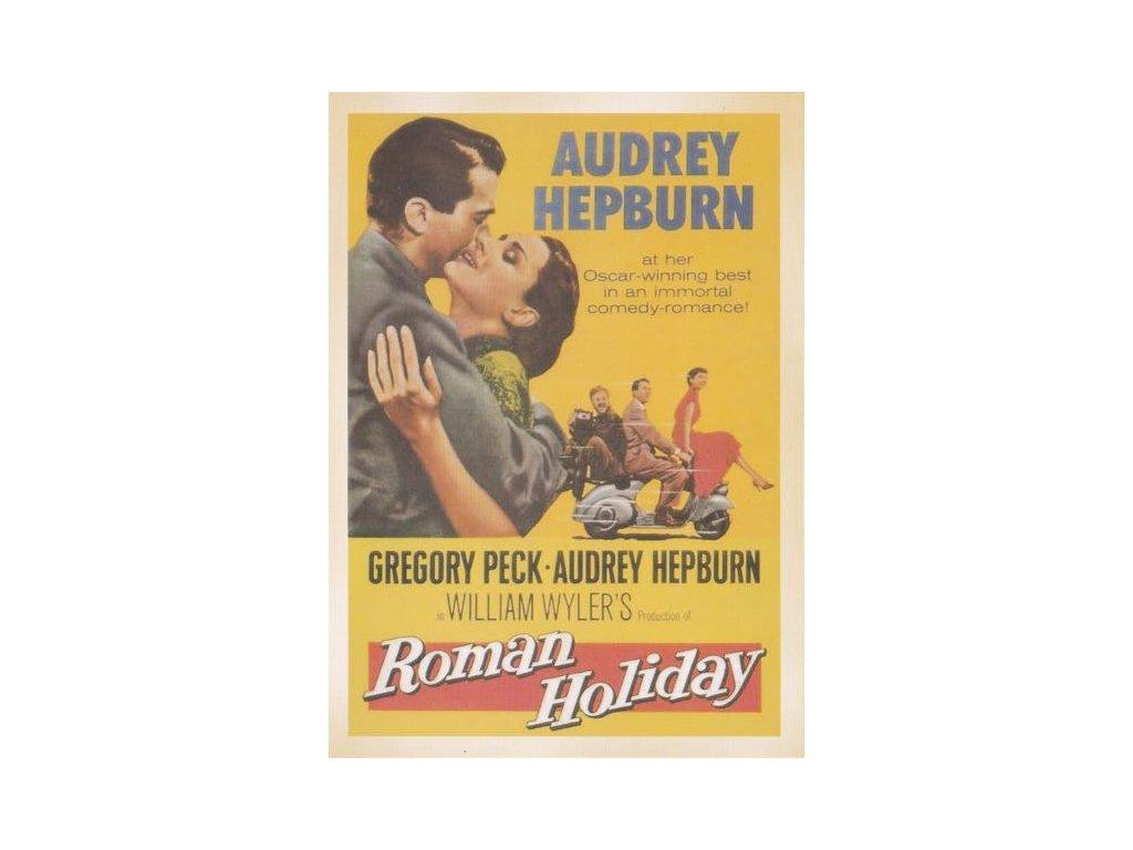 Pohlednice Film Prázdniny v Římě