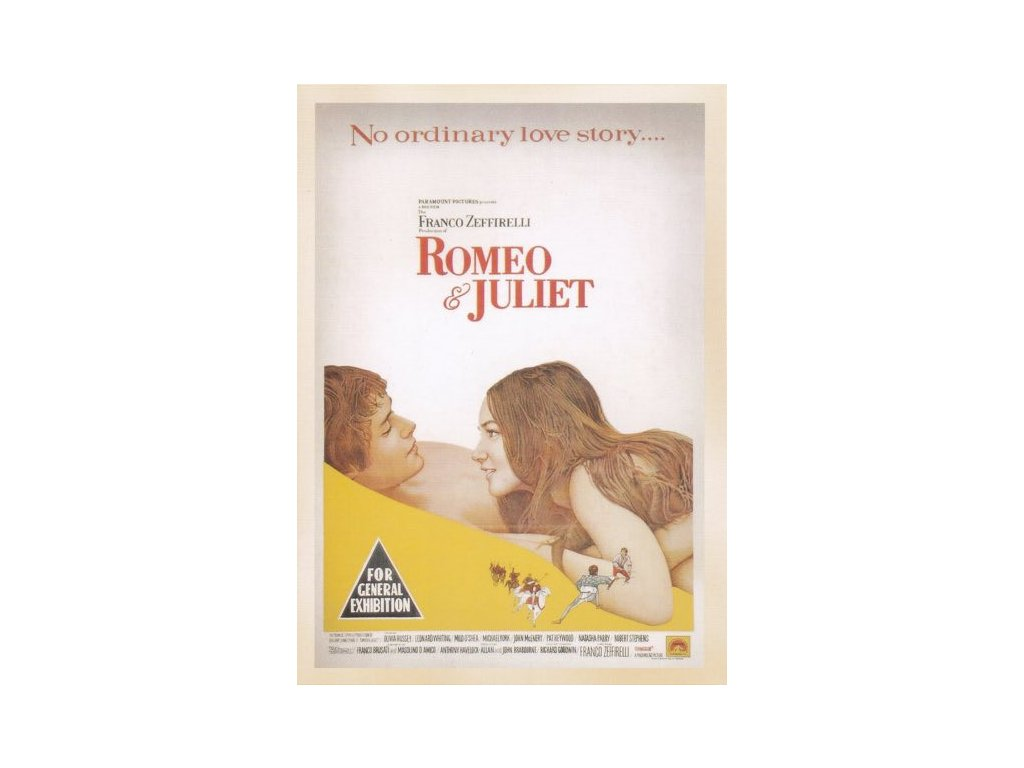 Pohlednice Film Romeo a Julie