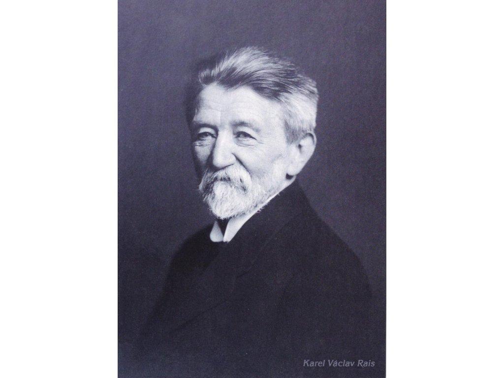 Pohlednice Karel Václav Rais