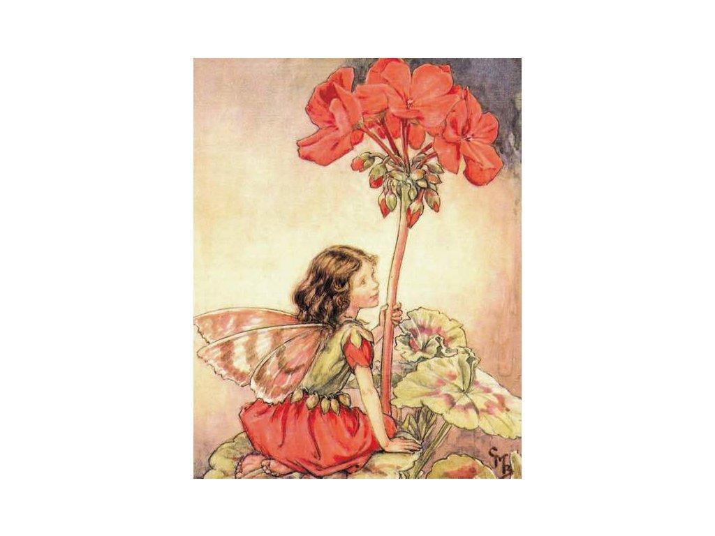 Pohlednice Květinová víla 19