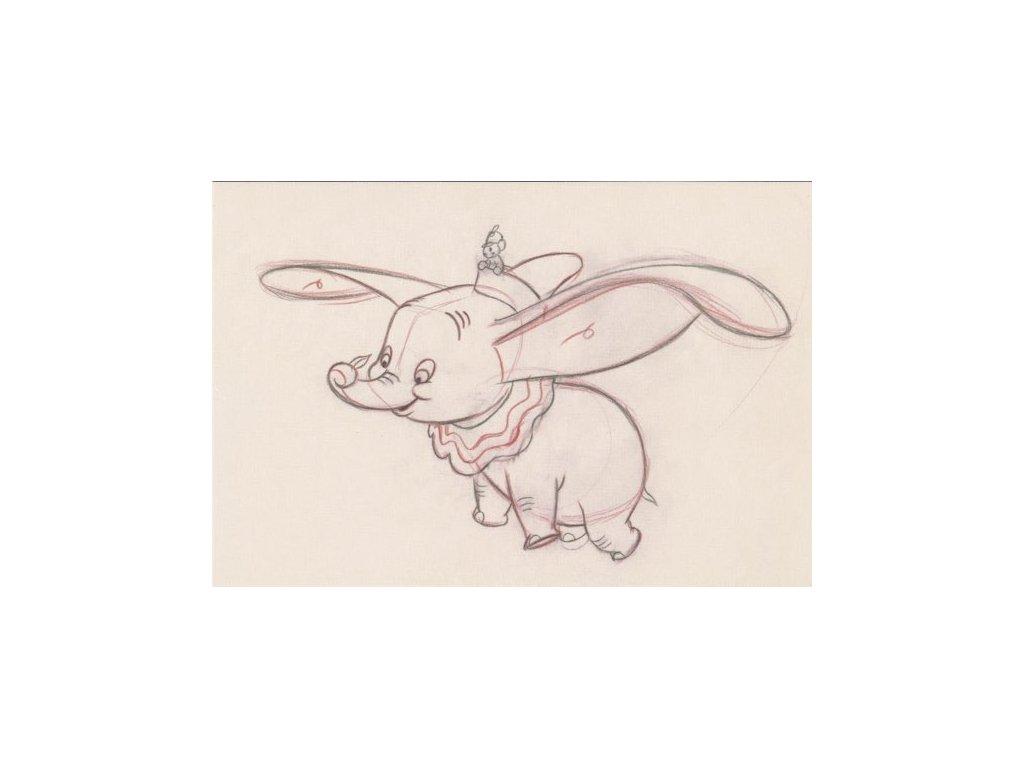 Pohlednice Dumbo 3