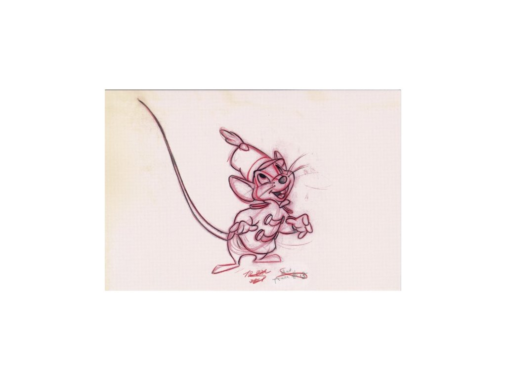 Pohlednice Dumbo 5