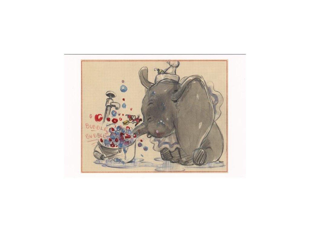 Pohlednice Dumbo 7