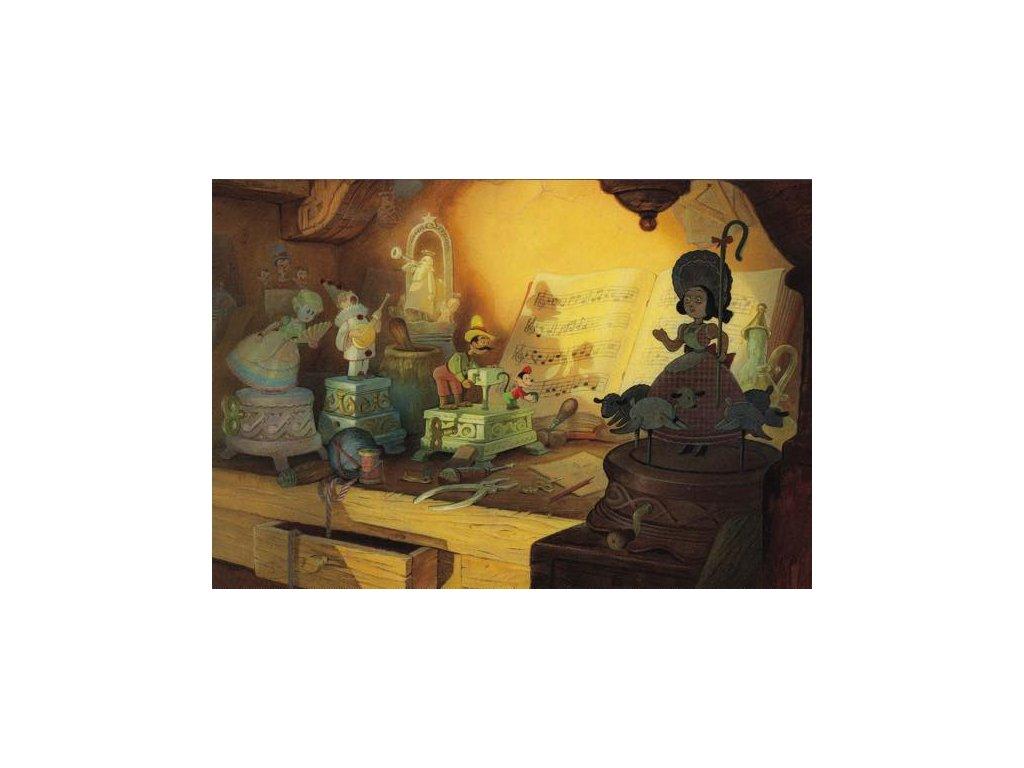Pohlednice Pinocchio 7