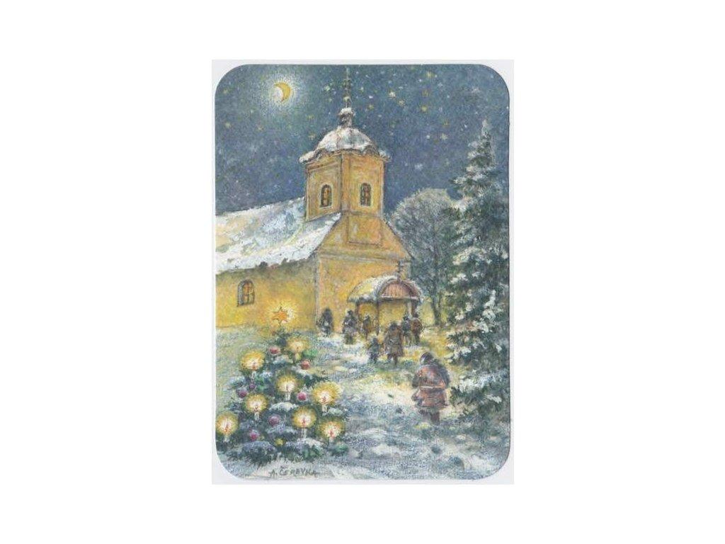Pohlednice Vánoční čas