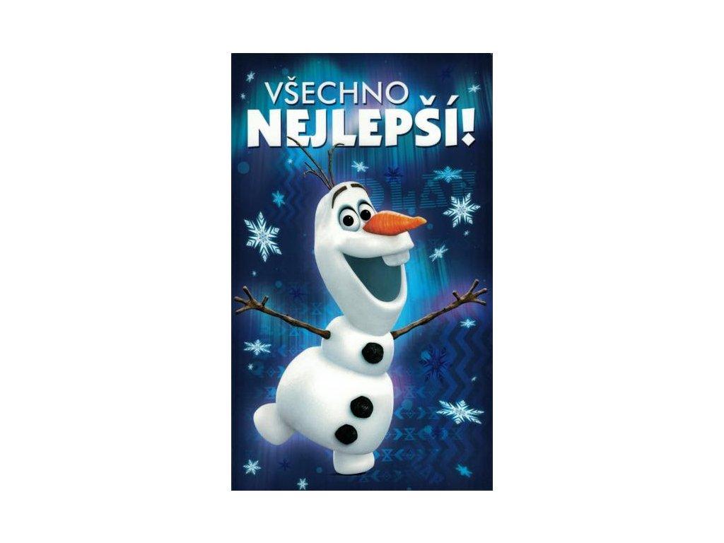 Blahopřání Frozen