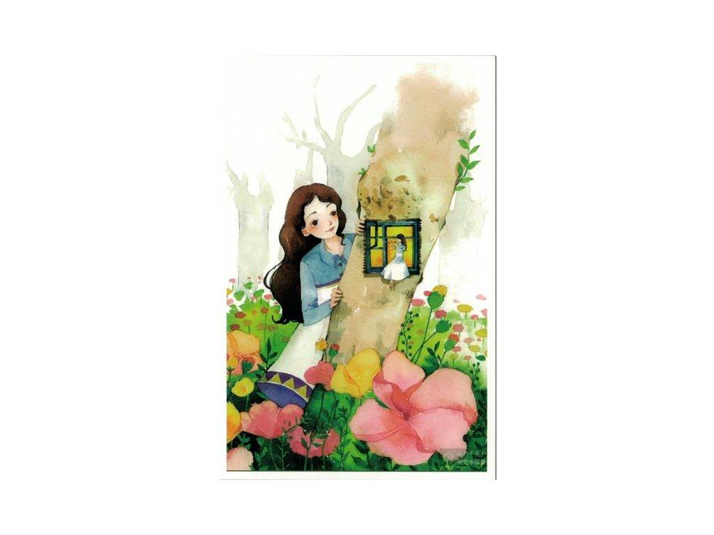 Pohlednice Květinová 1