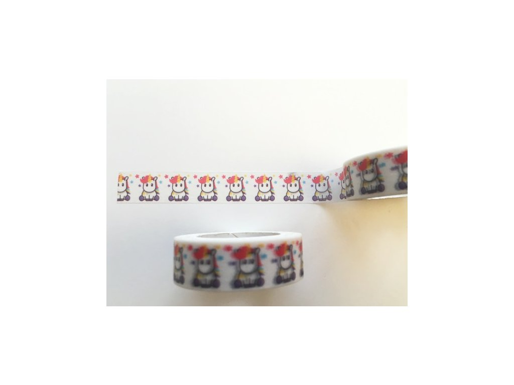Washi páska Jednorožec