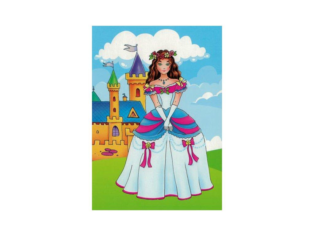 Pohlednice Princezna