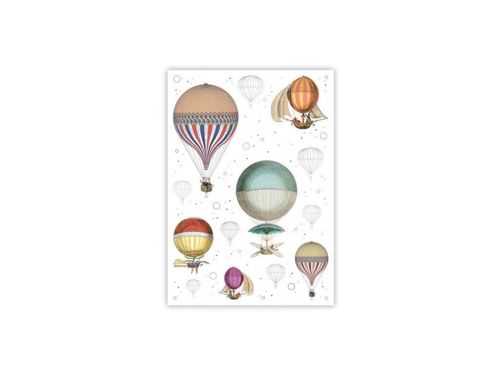 Pohlednice Balóny