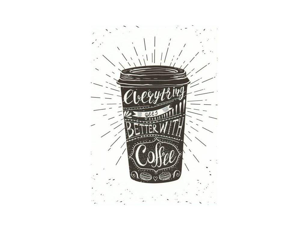 Pohlednice S kávou...