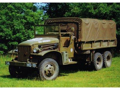 Pohlednice Nákladní vůz G.M.C. 353