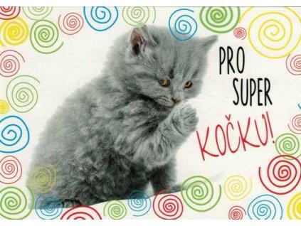 Pohlednice Pro super kočku!