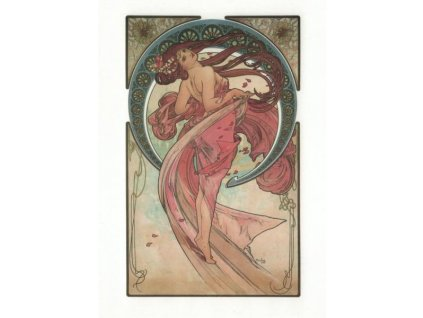 Pohlednice A. Mucha - Dance