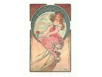 Pohlednice A. Mucha - Paintings