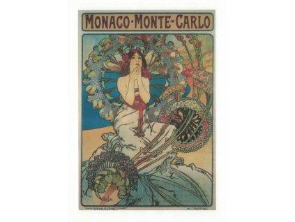 Pohlednice A. Mucha - Monaco