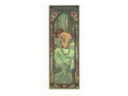 Pohlednice A. Mucha - Time