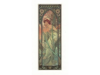 Pohlednice A. Mucha - Evening