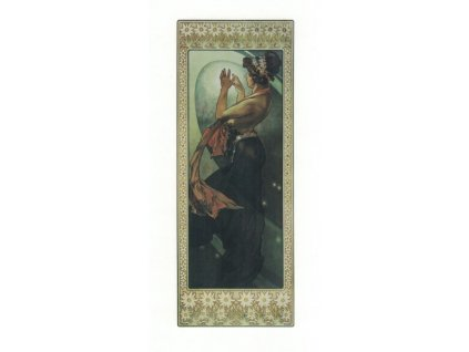 Pohlednice A. Mucha - Pole Star