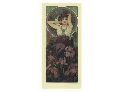 Pohlednice A. Mucha - Amethyst