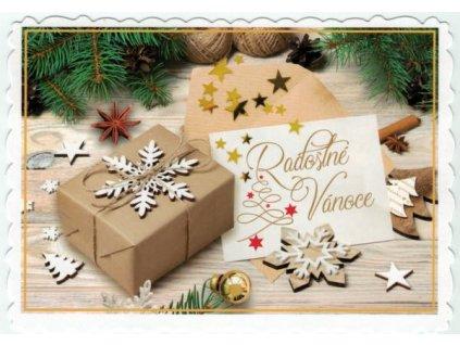 Pohlednice Radostné Vánoce