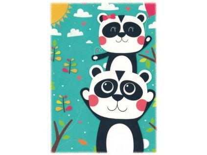 Pohlednice Pandy
