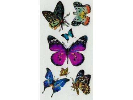 Samolepky Motýlci 2